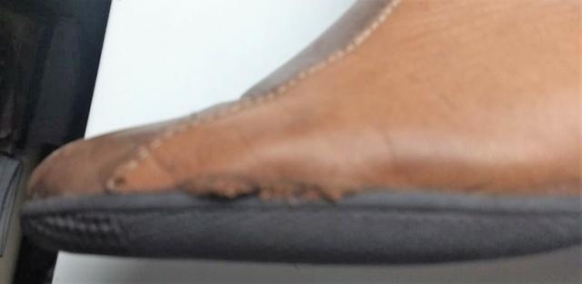 Bota de Couro J.Gean   Precisa Conserto   Tamanho 37 - Foto 4