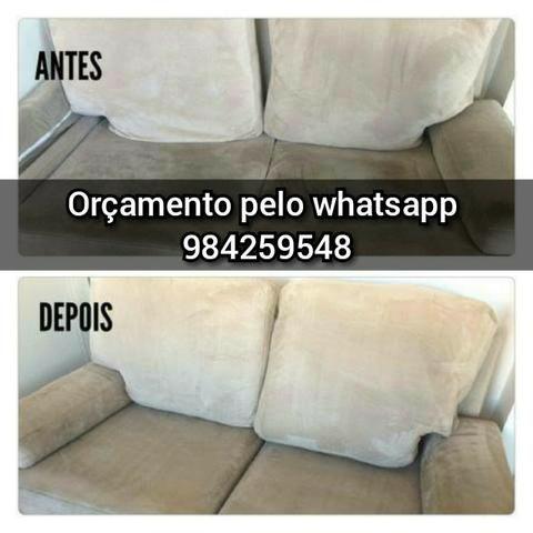 Lavagem de sofás. Colchões em Fortaleza caucaia e região metropolitana - Foto 2