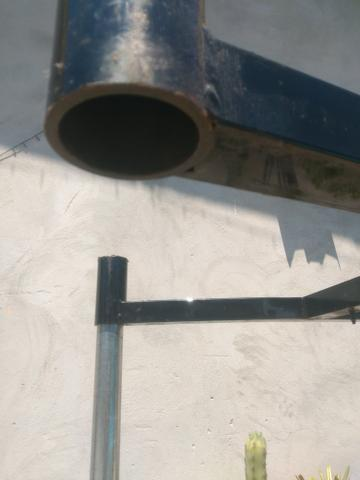 Vendo estruturas de ferro reforçado e desmontável. Tipo mesa !! $35,00.!! - Foto 3