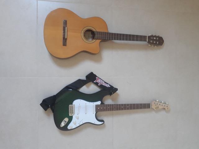 Violão gianinni e guitarra tagima