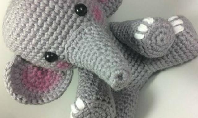 Elefante amigurumi - Foto 4