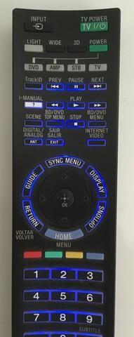 Controle remoto original Sony RM-yd058 TV 46HX-925 Seminovo - Foto 4