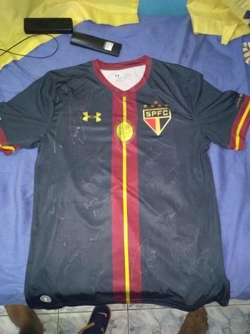 Camisa do Rogério Ceni autografada no jogo despedida tamanho G 0ffb56387a3