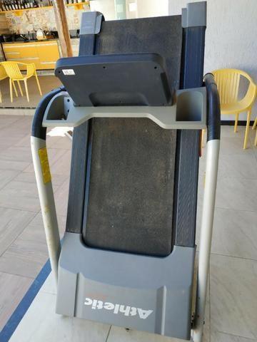Esteira athletic advanced 450ee + aparelho multifuncional musculação + saco  de box bda54b7358a15