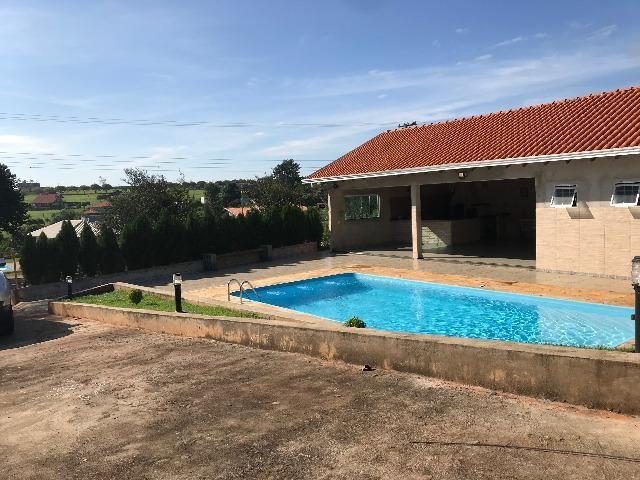 Casa Estância Cabral com piscina