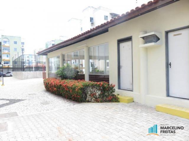 Apartamento com 2 dormitórios para alugar, 45 m² por R$ 909,00/mês - Parque Tabapua - Cauc - Foto 12