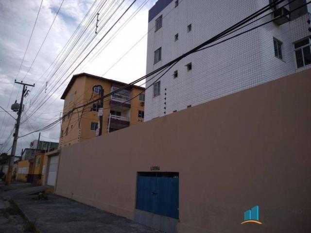 Apartamento com 3 dormitórios para alugar, 80 m² por R$ 859,00/mês - Icaraí - Caucaia/CE - Foto 2