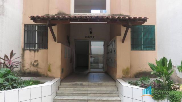 Apartamento com 2 dormitórios para alugar, 45 m² por R$ 909,00/mês - Parque Tabapua - Cauc - Foto 3