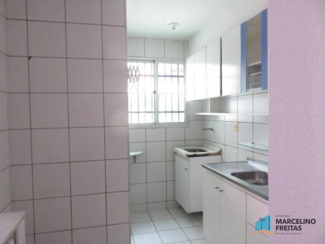 Apartamento com 2 dormitórios para alugar, 45 m² por R$ 909,00/mês - Parque Tabapua - Cauc - Foto 7