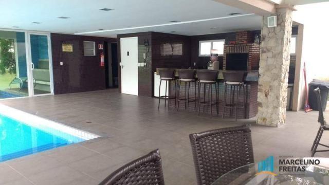Casa com 3 dormitórios para alugar, 176 m² por R$ 2.509,00/mês - Precabura - Eusébio/CE - Foto 4