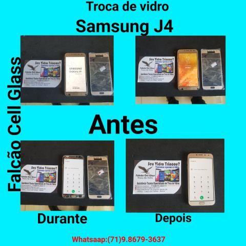 Troca de vidros de Smartphones