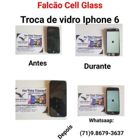 Troca de vidros de Smartphones - Foto 4