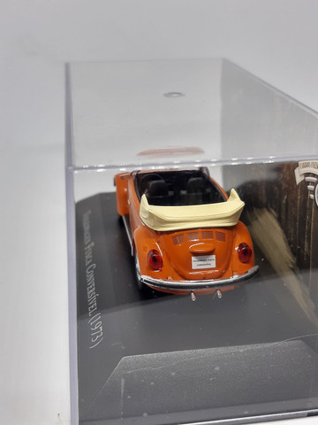 Miniatura Fusca conversível 1973 escala 1/43 - Foto 3