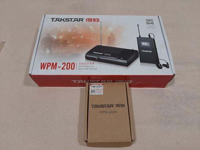 Takstar wpm 200 com dois receptores - Foto 2