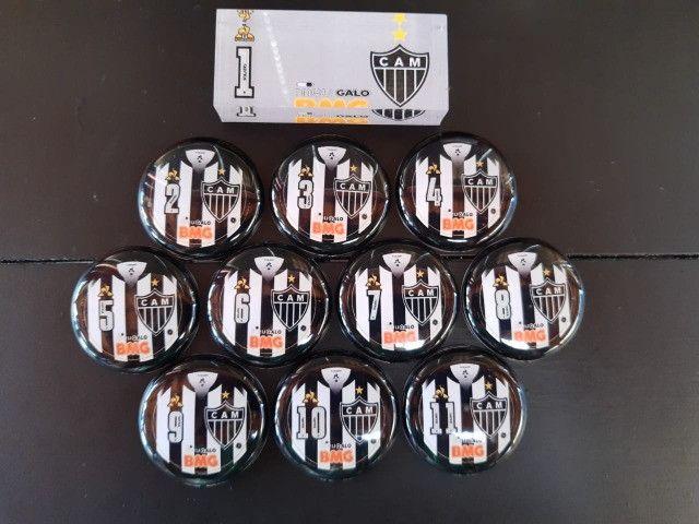 Futebol de Botão Times de Vidrilha 45mm - Foto 2