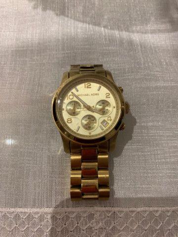 Relógio Michael Kors Feminino Dourado - MK5055