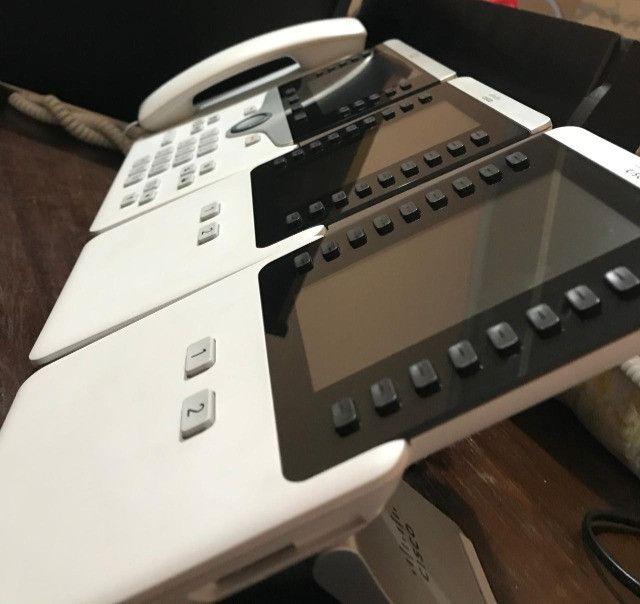 Telefone branco Cisco cp-8841-k9 (semi-novo) - Foto 5