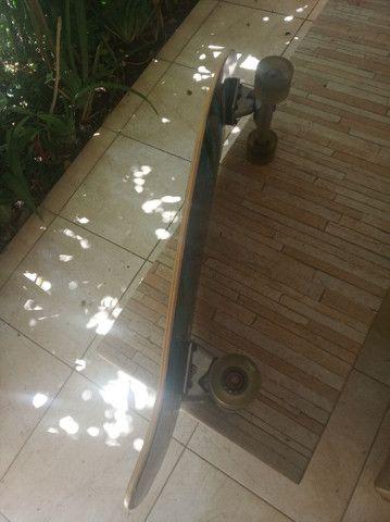 Simulador de surf Hondar semi-novo skate sk8 - Foto 3