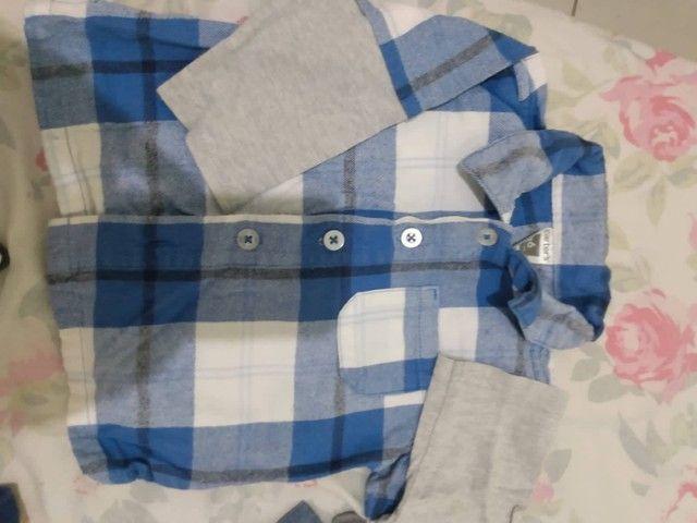 Camisa menino bebê