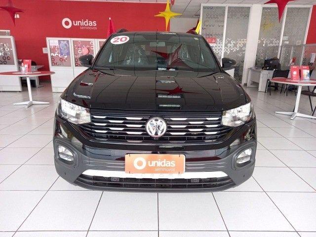 Volkswagen T-Cross Comfortline 1.0 tsi (turbo) - 2020 unico dono impecavel - Foto 3