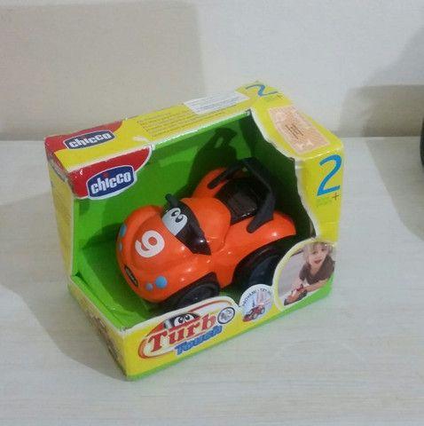 carrinho de Brinquedo Bebê/Infantil Turbo Touch Quaddy Laranja - Chicco - Foto 5