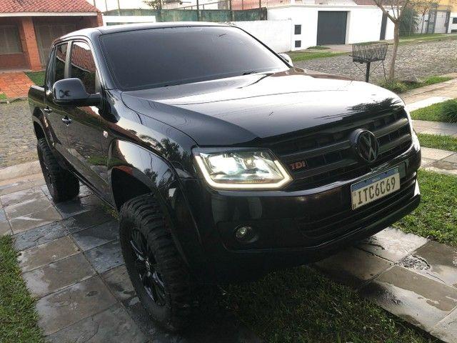 AMAROK HIGLINE ALL BLACK  - Foto 8