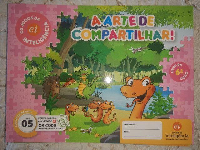 Kit 9 Livros Ei Escola Da Inteligência 2° Período 4 E 5 Anos - Foto 4