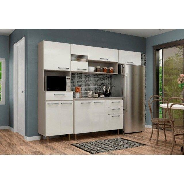 Armário para Cozinha Completo / Cozinha Compacta Com Balcão  - Foto 3