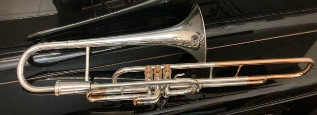 Trombone Weril Prata Sib Curto