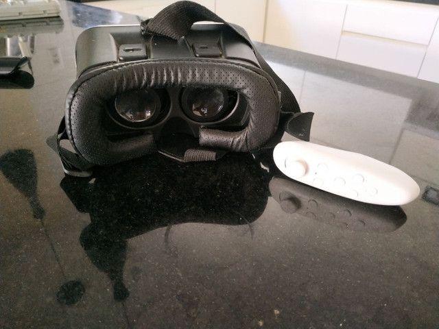 Vr box realidade virtual com controle para jogos. - Foto 3