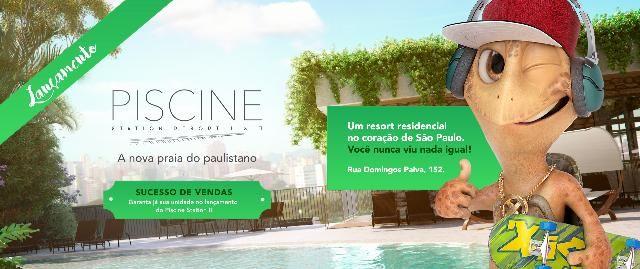 Apartamento 2 dorms, 1 vaga - São Paulo, Brás, Piscine , Gamaro, Lançamento