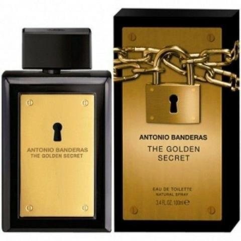 c7085b00d0 The Golden Secret Antonio Banderas - Perfume Masculino - Eau de Toilette -  100ml