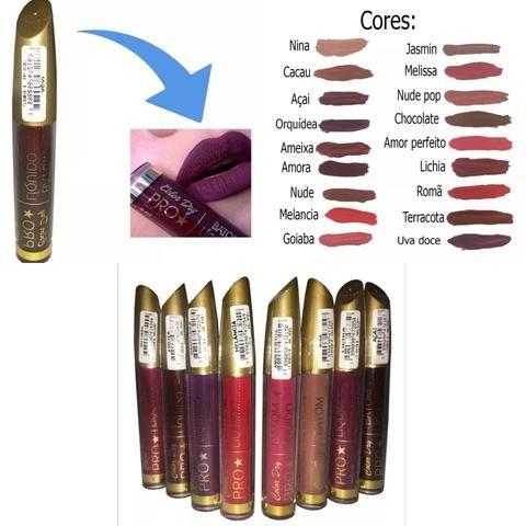 Kit com 20 batom COLOR DRY PRO