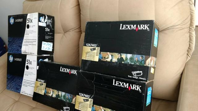 Tonner HP LASERJET e LEXMARK - Foto 2