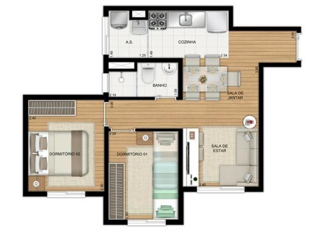 Apartamentos de 2 dorms, Zona Oeste - Foto 16