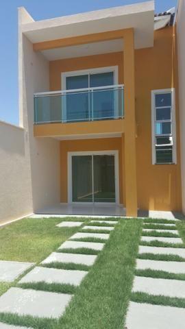 VENDO casa no Eusébio com 123 m² e 4 quartos. Próximo ao colégio Ágape e CE 040 - Foto 4