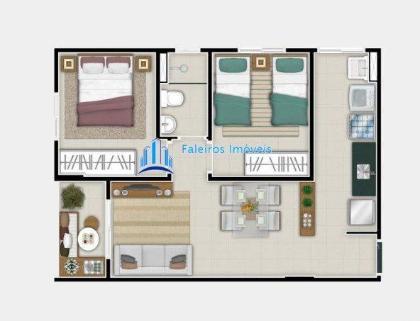 UP 400 Apartamento 2 dormitórios Minha Casa Minha Vida Ipiranga - Foto 12