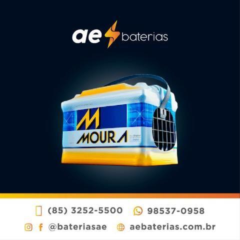 Bateria Moura 60Ah, ligue ou fale no whatsapp