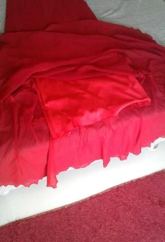 Vestido de festas vermelho - Foto 2