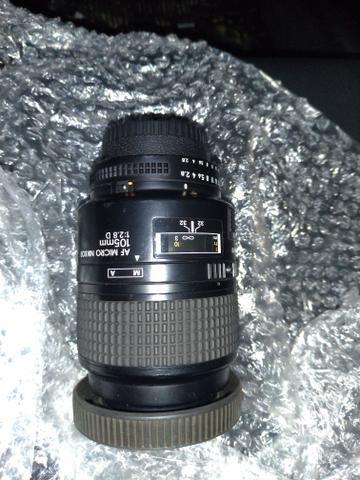 Lente Nikon vendo ou troco celular,PS4, Xbox, notebook etc. faça sua proposta - Foto 5