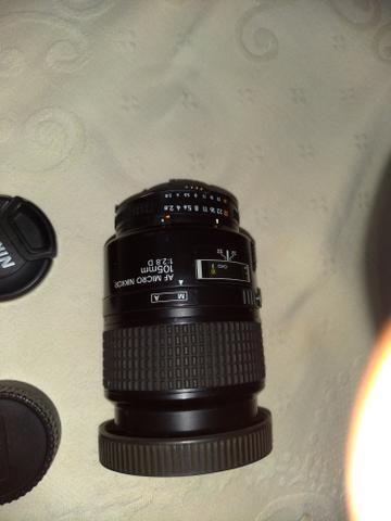 Lente Nikon vendo ou troco celular,PS4, Xbox, notebook etc. faça sua proposta - Foto 2