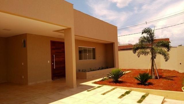Samuel Pereira oferece: Casa 3 Suites Moderna Armários Churrasqueira Sobradinho CABV - Foto 2