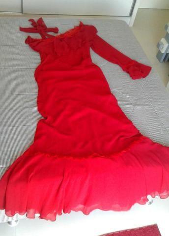 Vestido de festas vermelho - Foto 3