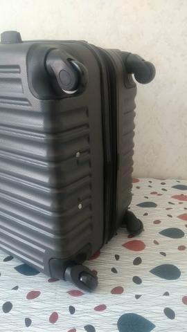 Conjunto kit de malas de viagem ABS fibra NOVAs - Foto 4