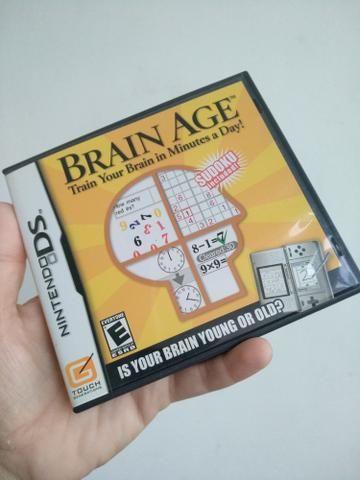 Nintendogs e Brain Age Nintendo DS NDS