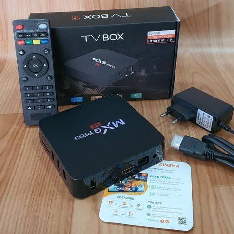 Tv box 3 gigas de ram 32 de rom(profissional)