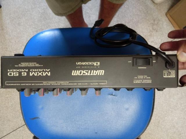 Mesa de som Analógica MXM 6 canais - Foto 2