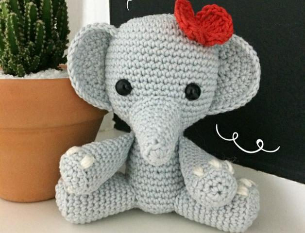 Elefante amigurumi - Foto 5