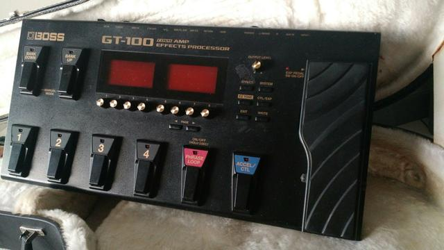 Boss GT100 Zerada! - Foto 4