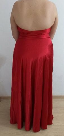 Vestido de Festa Longo Vermelho 44/46 - Foto 6